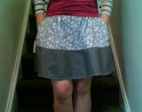 Wardrobe Revamp: Too Short Skirt Fix