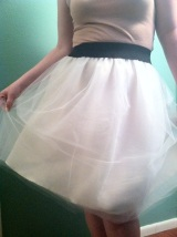Ballet Inspired Tulle Skirt