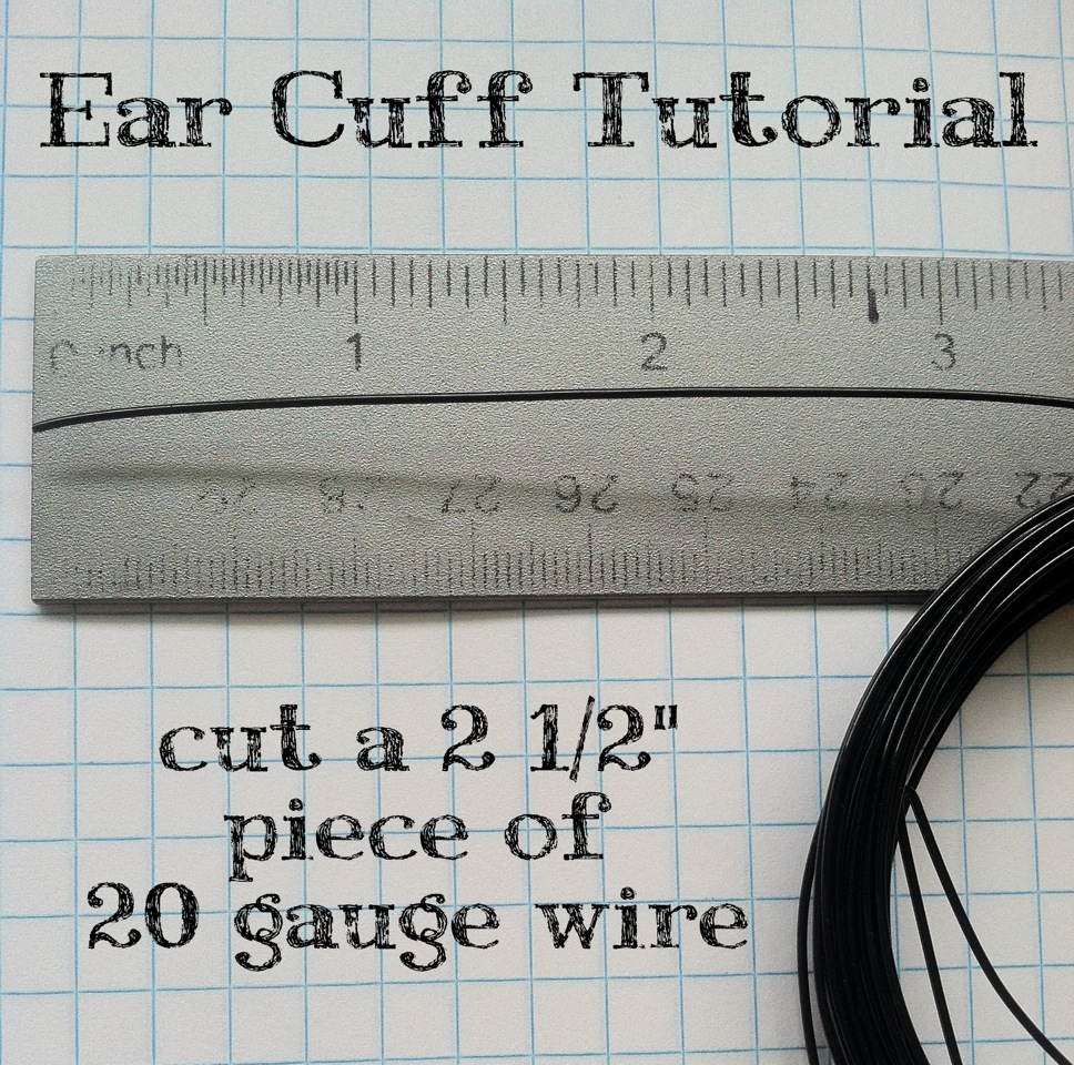 Make Your Own Simple Wire Ear Cuff – Zounds Designs