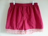 Cute Shorts Made From Men's Boxers