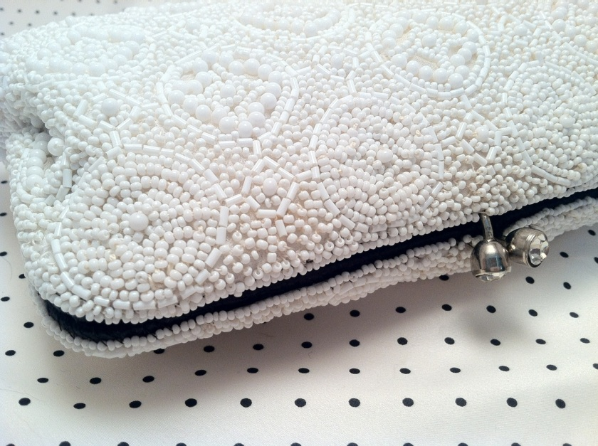 Refurbished Vintage Beaded Clutch