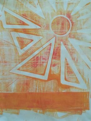 Gelatin Print Sun