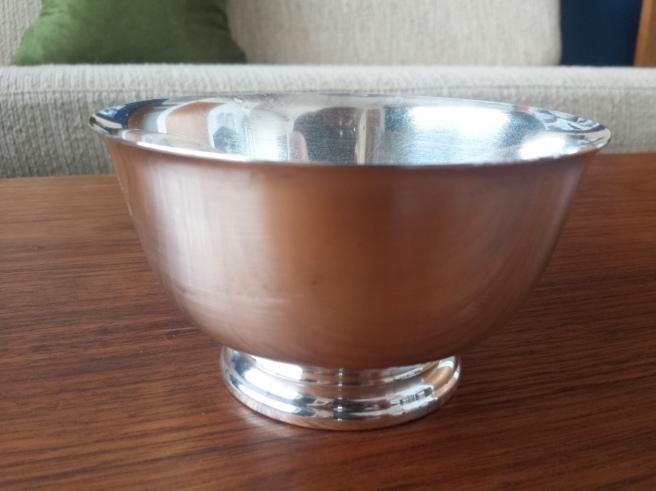 Silver Plated Bowl Polish
