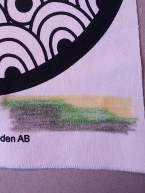 Inktense Fabric Test