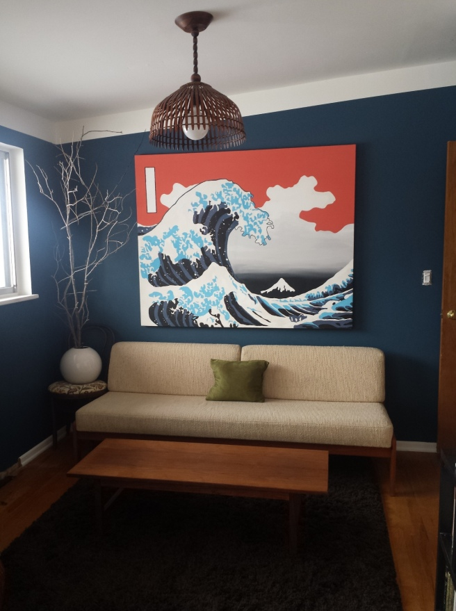 The Great Wave Re-Paint