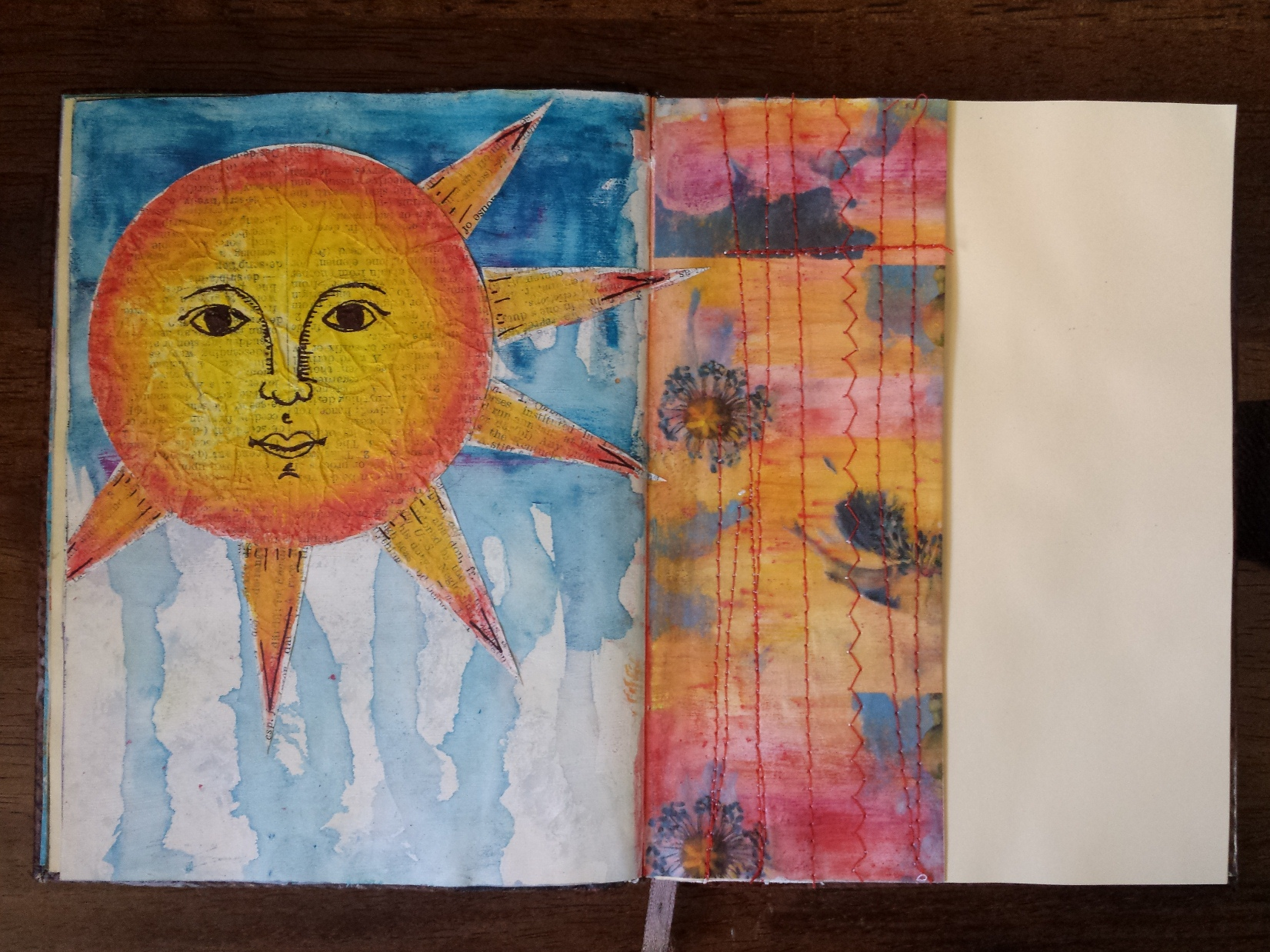 Art Journal Half Page