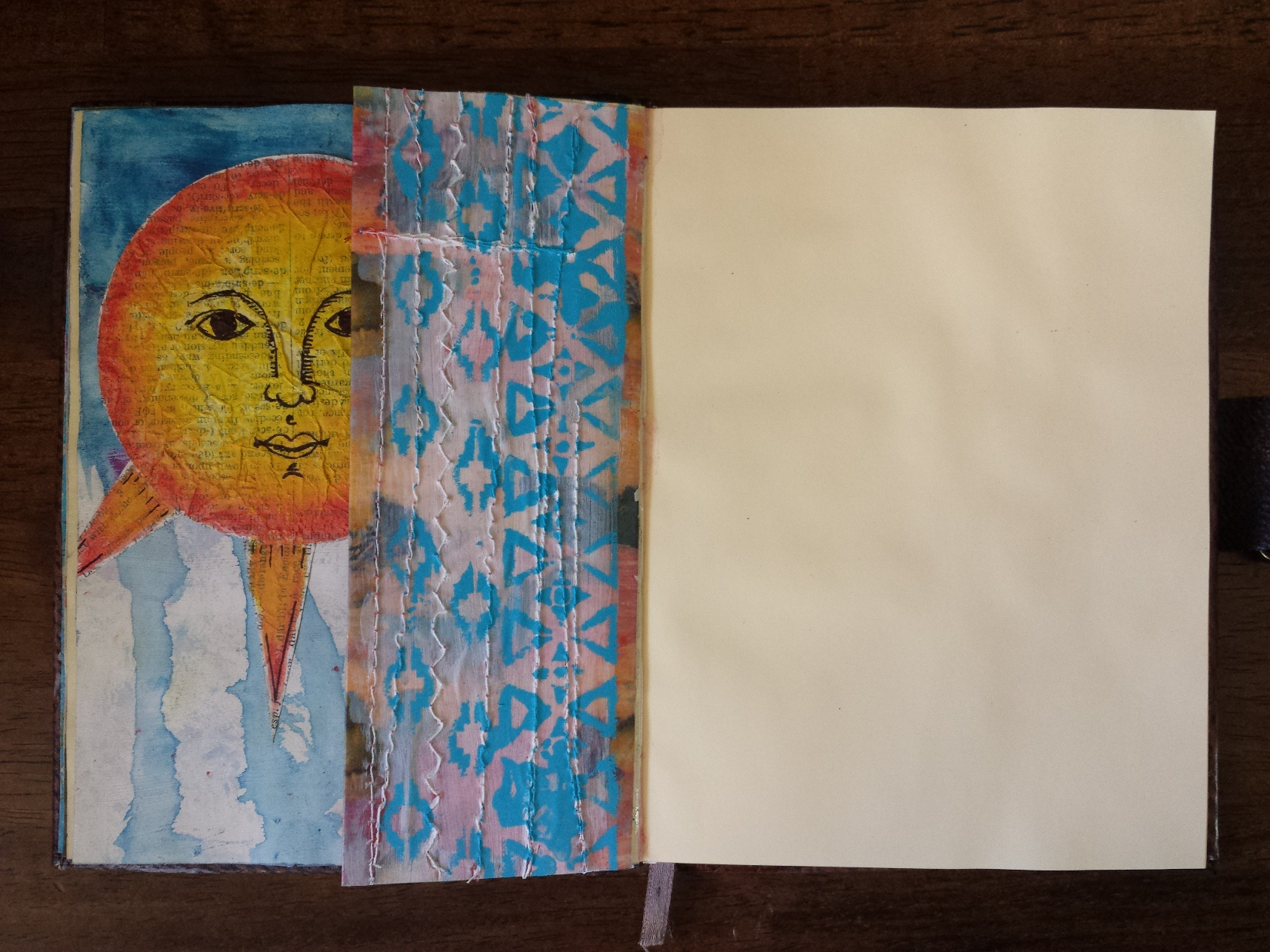 Art Journal Half Page