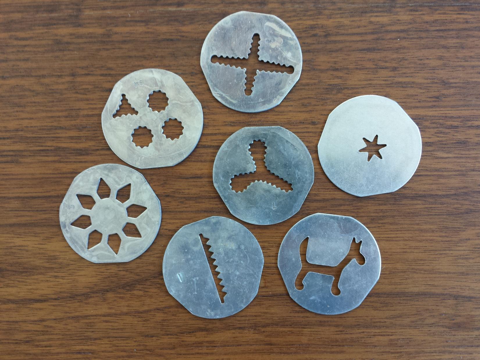 Vintage Mirro Cookie Press
