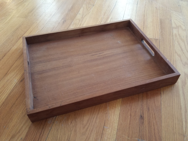 Mid-Modern Teak Serving Tray